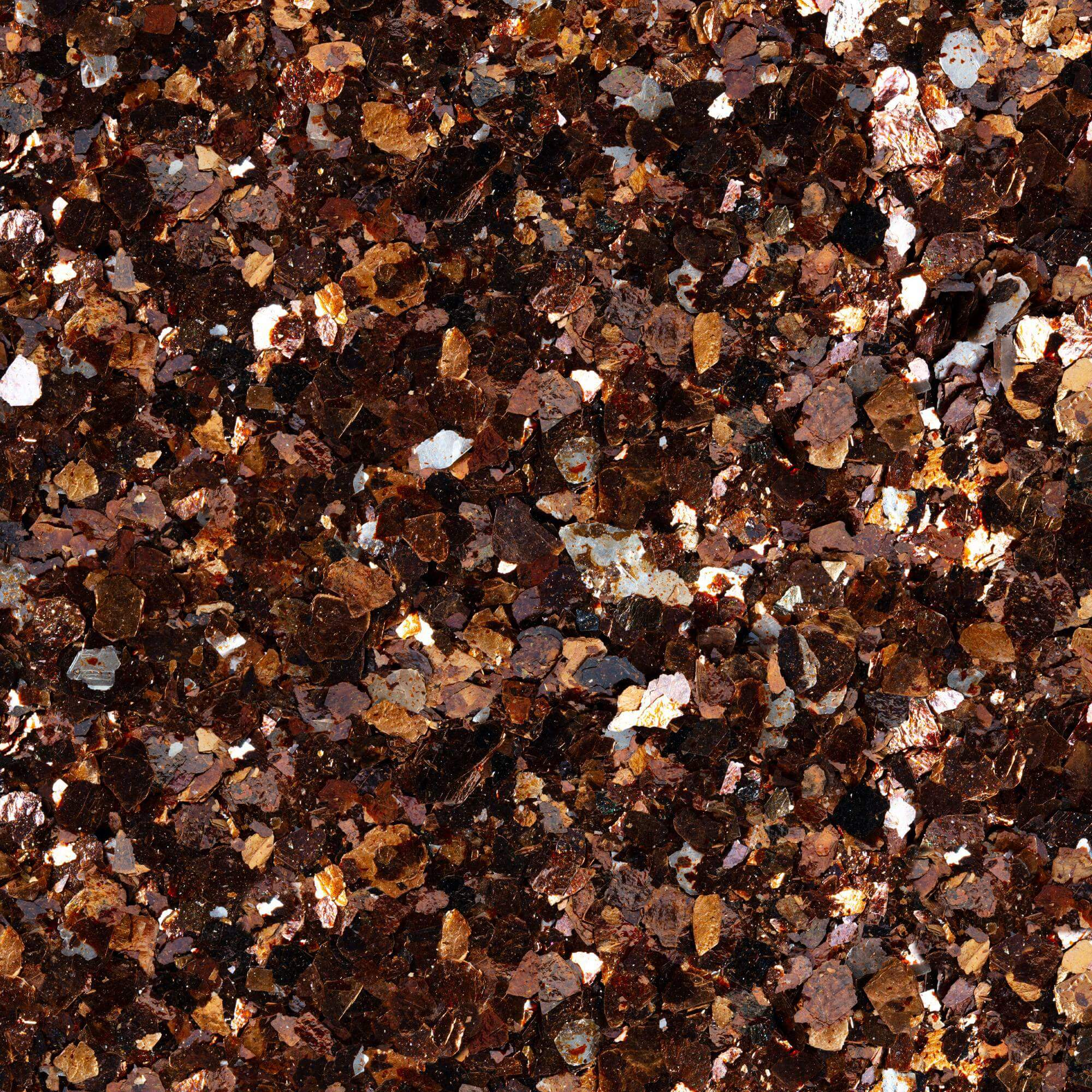 MICA FLAKES AMBER SIZE 3